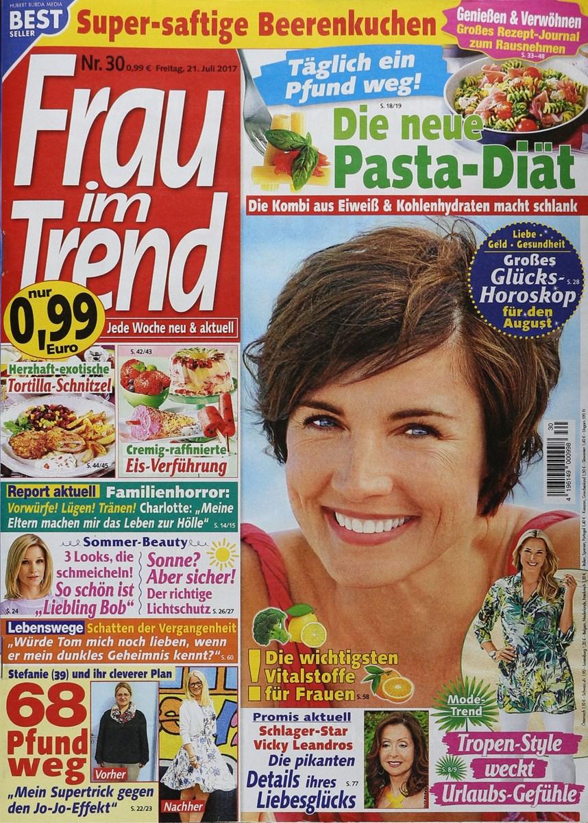 Frau Im Trend 302017 Zeitungen Und Zeitschriften Online