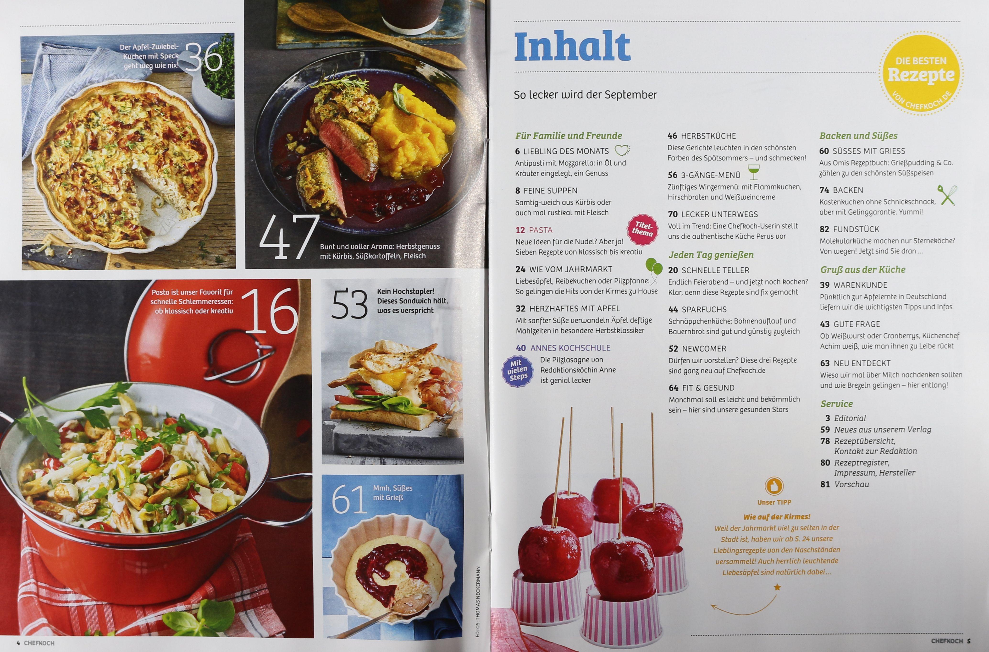 Sommerküche Chefkoch : Chefkoch zeitungen und zeitschriften online