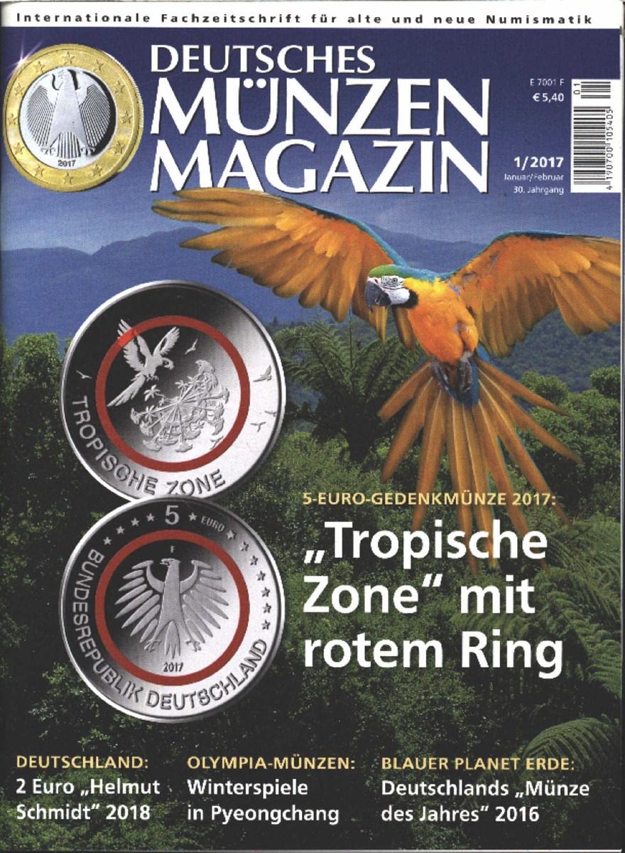 Deutsches Münzen Magazin 12017 Zeitungen Und Zeitschriften Online