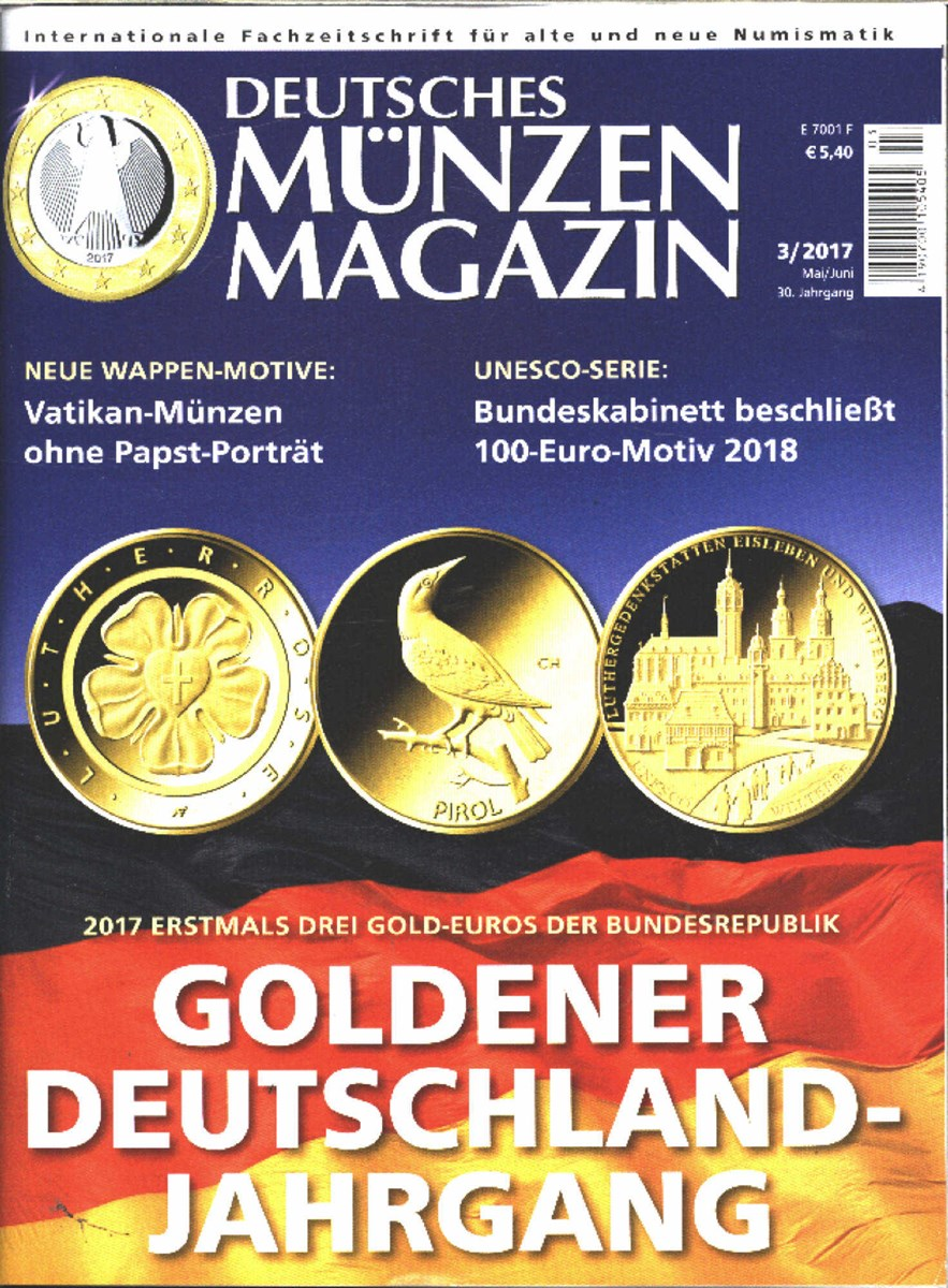 Deutsches Münzen Magazin 32017 Zeitungen Und Zeitschriften Online