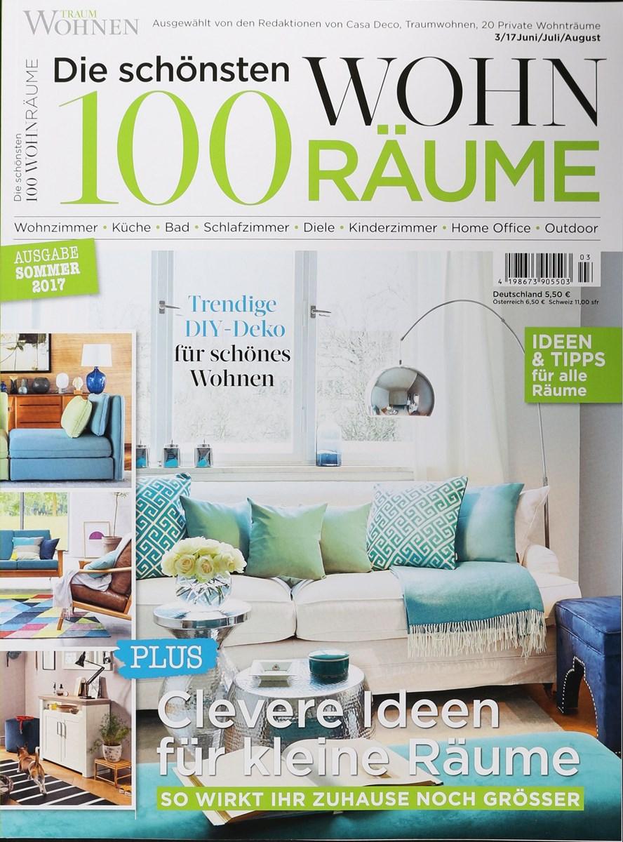 100 WOHNRÄUME 3/2017 - Zeitungen und Zeitschriften online