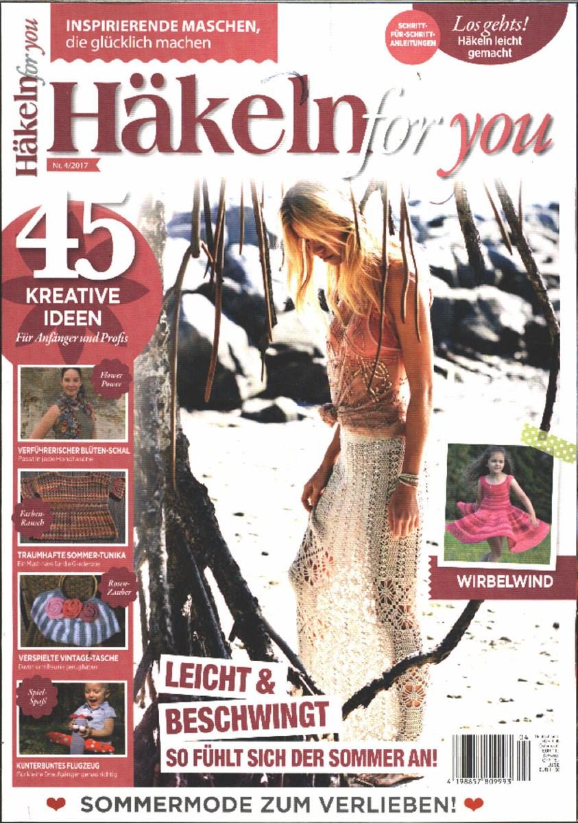 Häkeln For You 42017 Zeitungen Und Zeitschriften Online