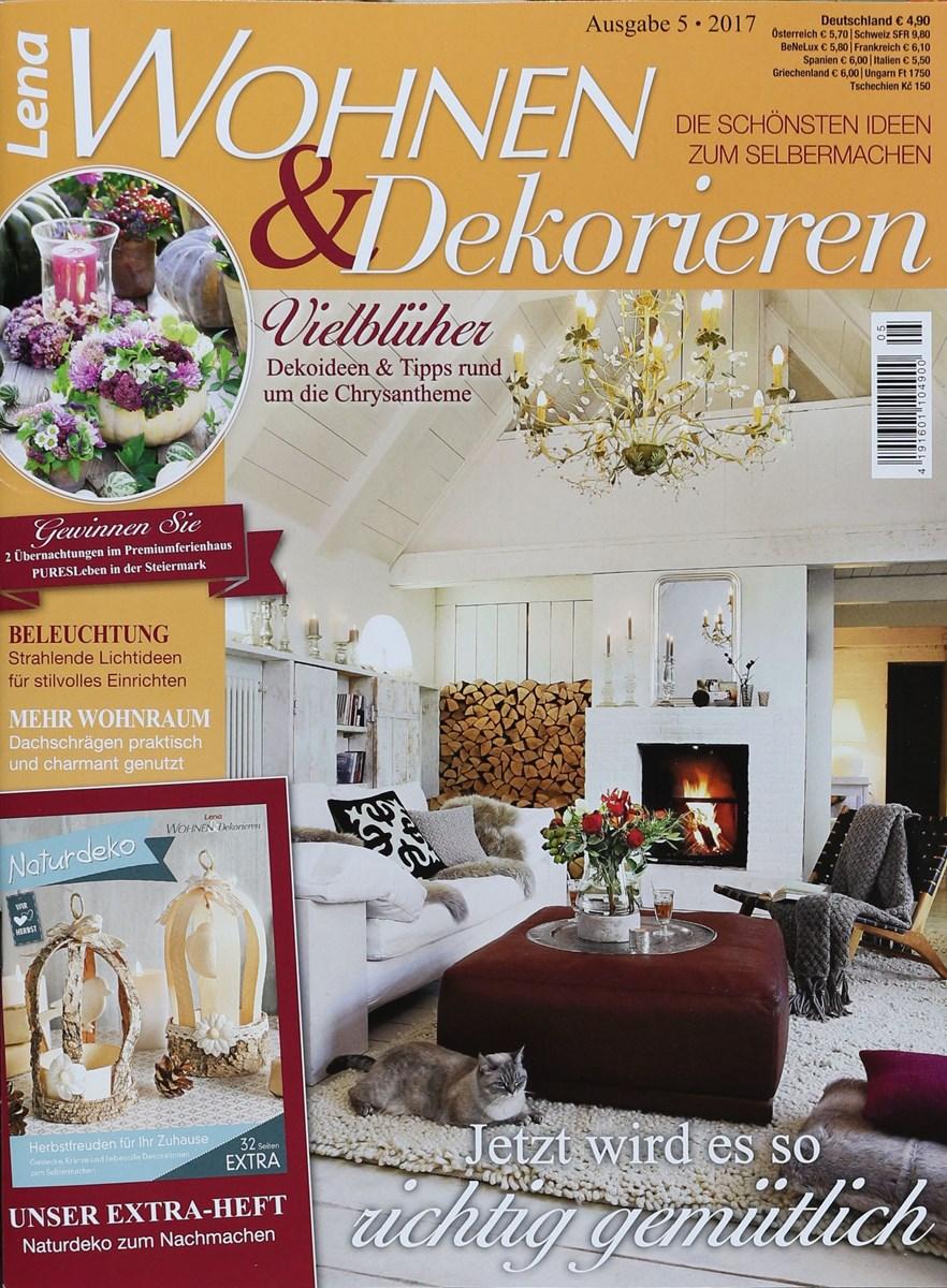 Lena wohnen dekorieren 5 2017 zeitungen und - Lea wohnen und dekorieren ...