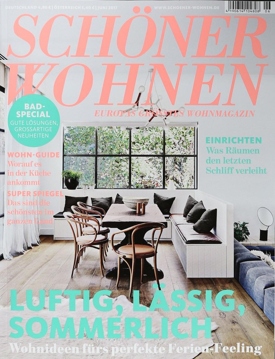 SCHÖNER WOHNEN 6/2017 - Zeitungen und Zeitschriften online