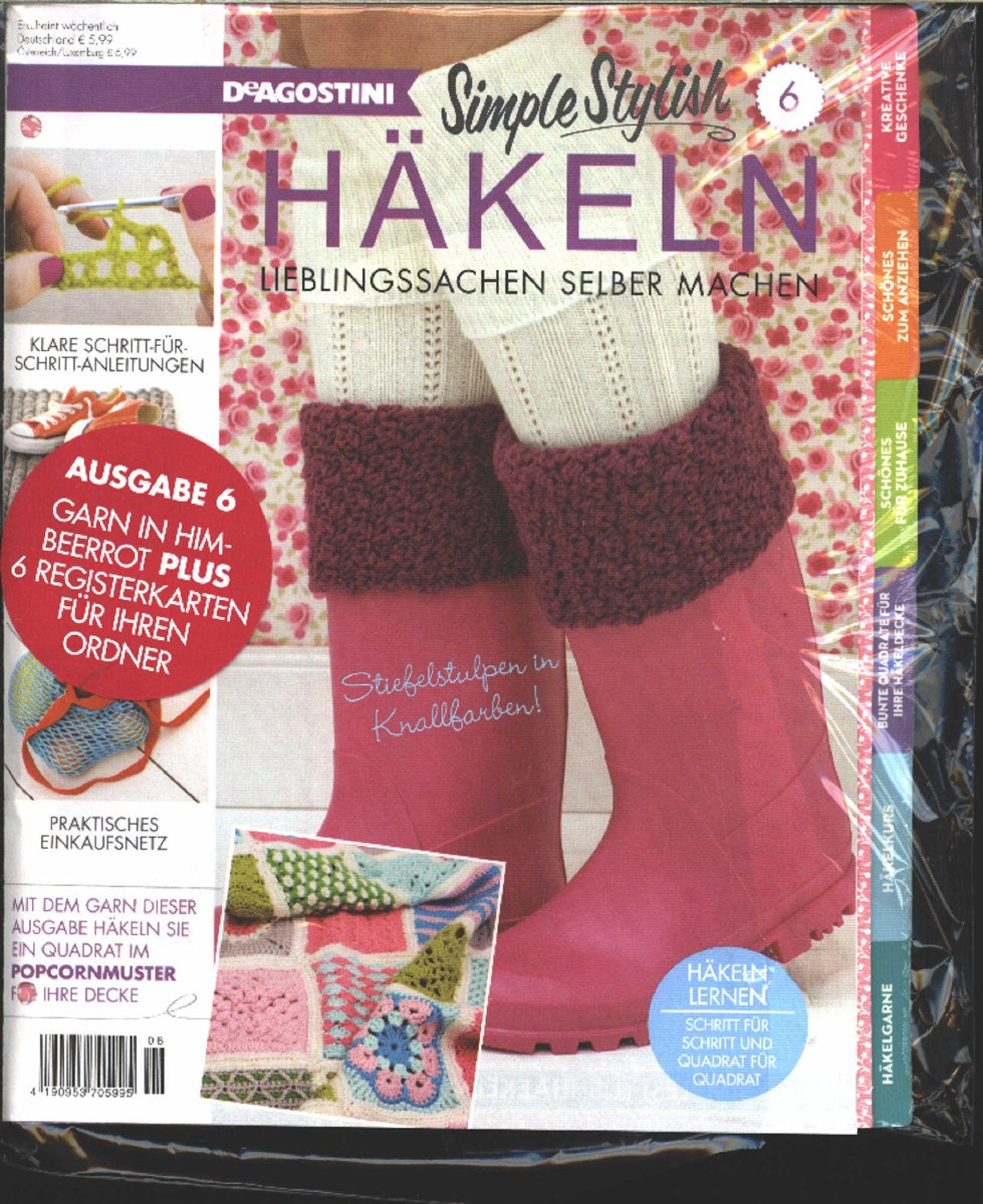 Simple Stylish Häkeln 62017 Zeitungen Und Zeitschriften Online
