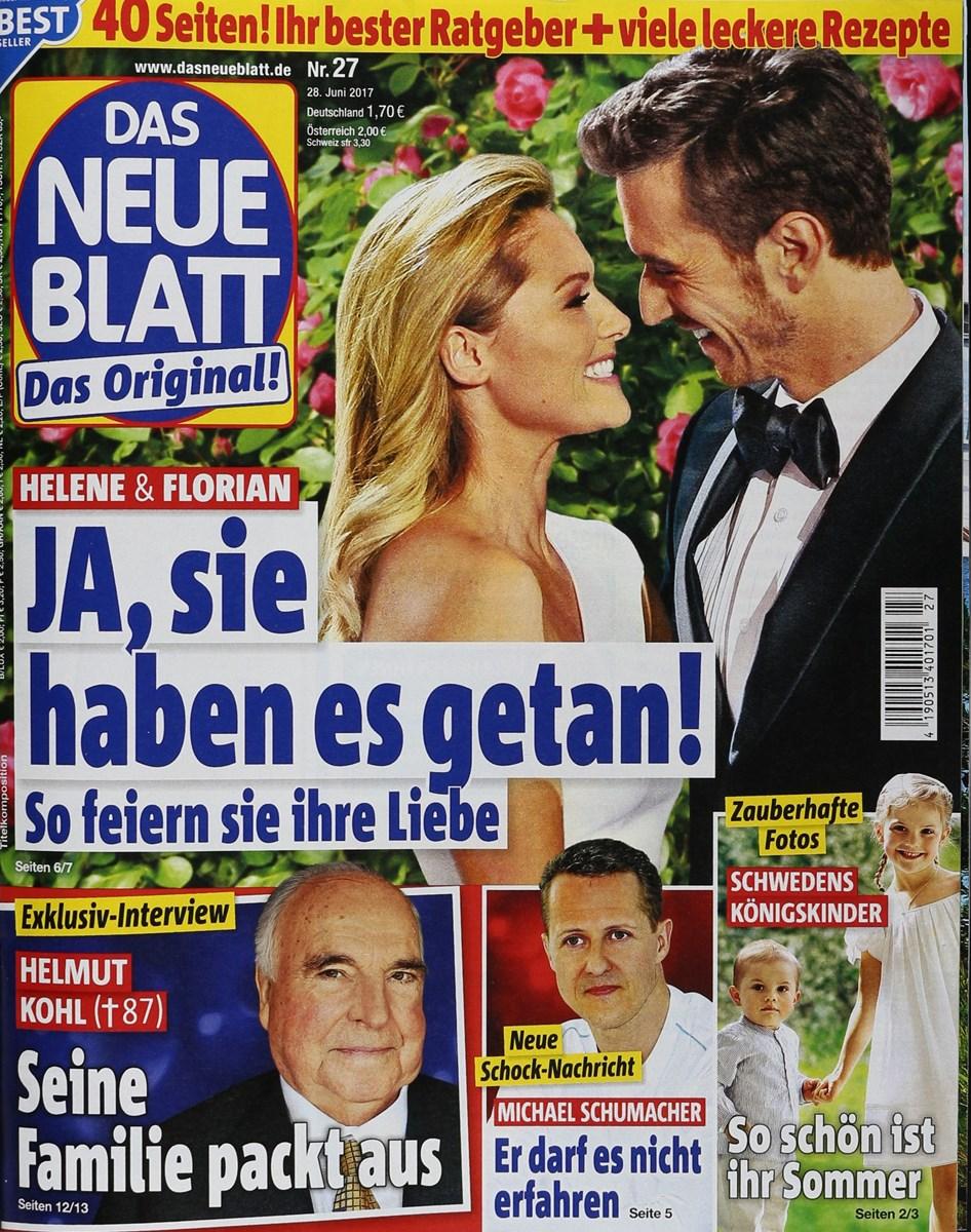 DAS NEUE BLATT 27/2017 - Zeitungen und Zeitschriften online