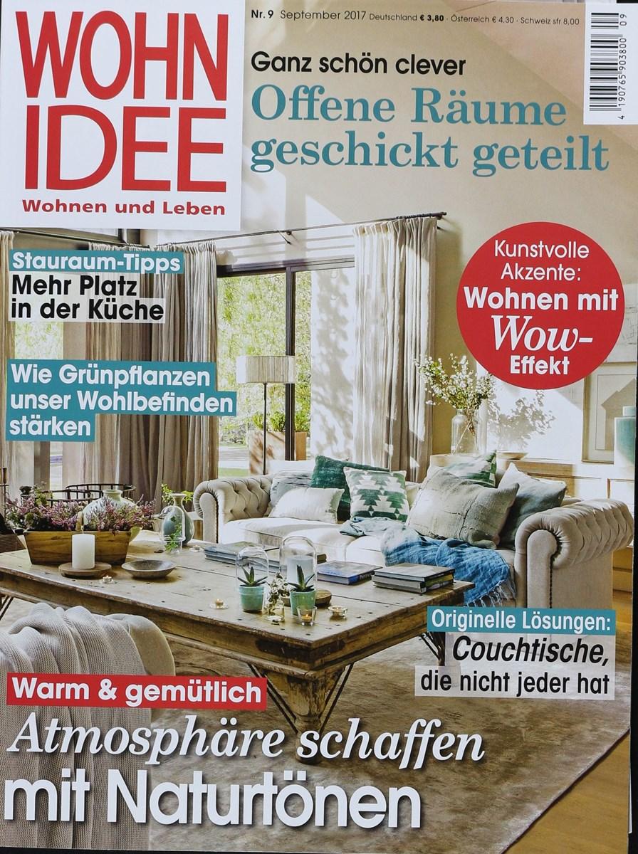 WOHNIDEE 9/2017 - Zeitungen und Zeitschriften online