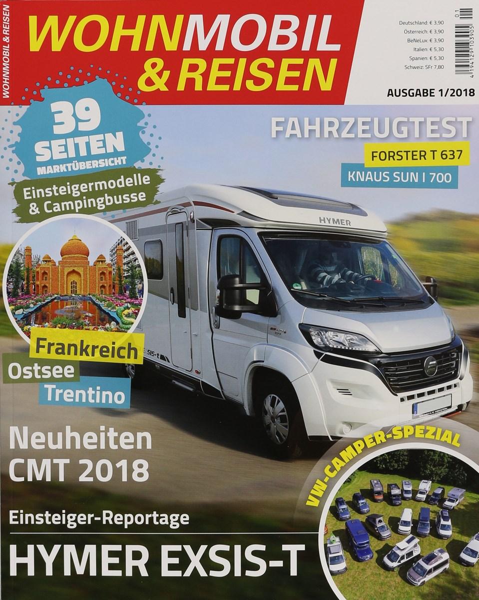WOHNMOBIL & REISEN 10/20108 - Zeitungen und Zeitschriften online
