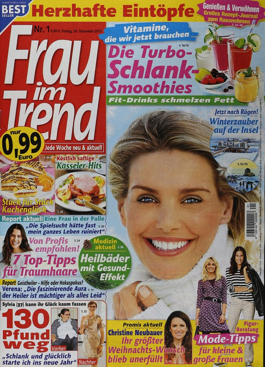 Frau Im Trend 12018 Zeitungen Und Zeitschriften Online