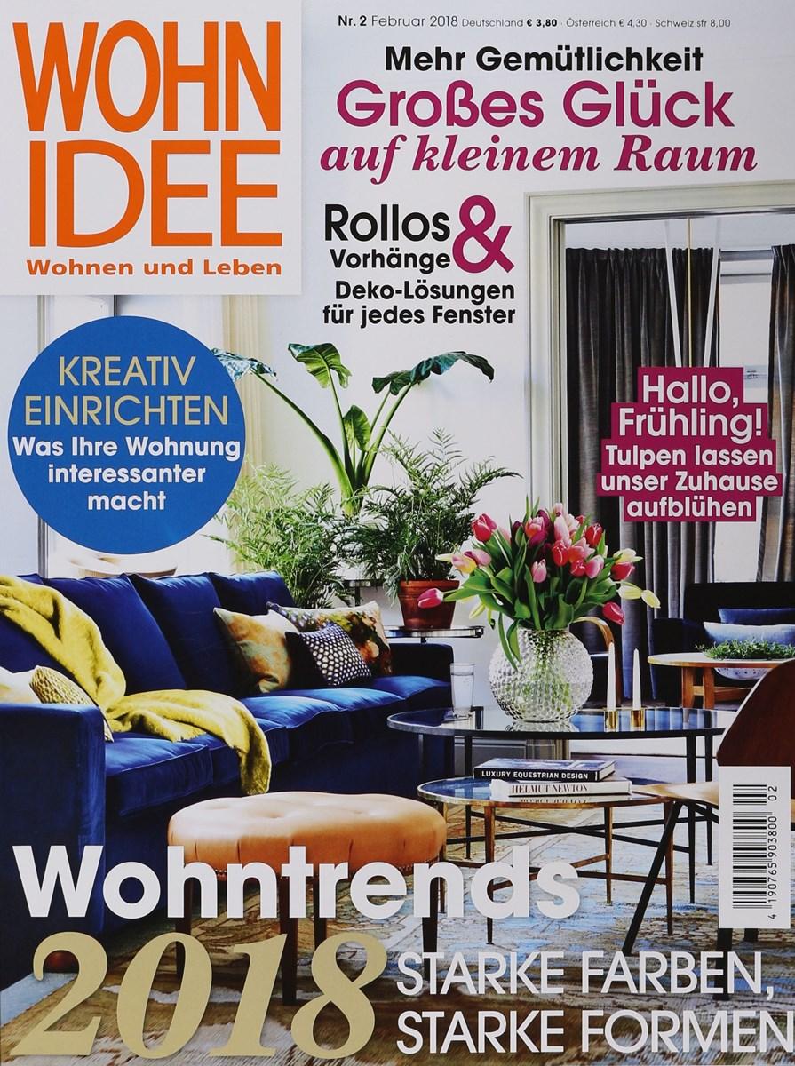 WOHNIDEE 2/2018 - Zeitungen und Zeitschriften online