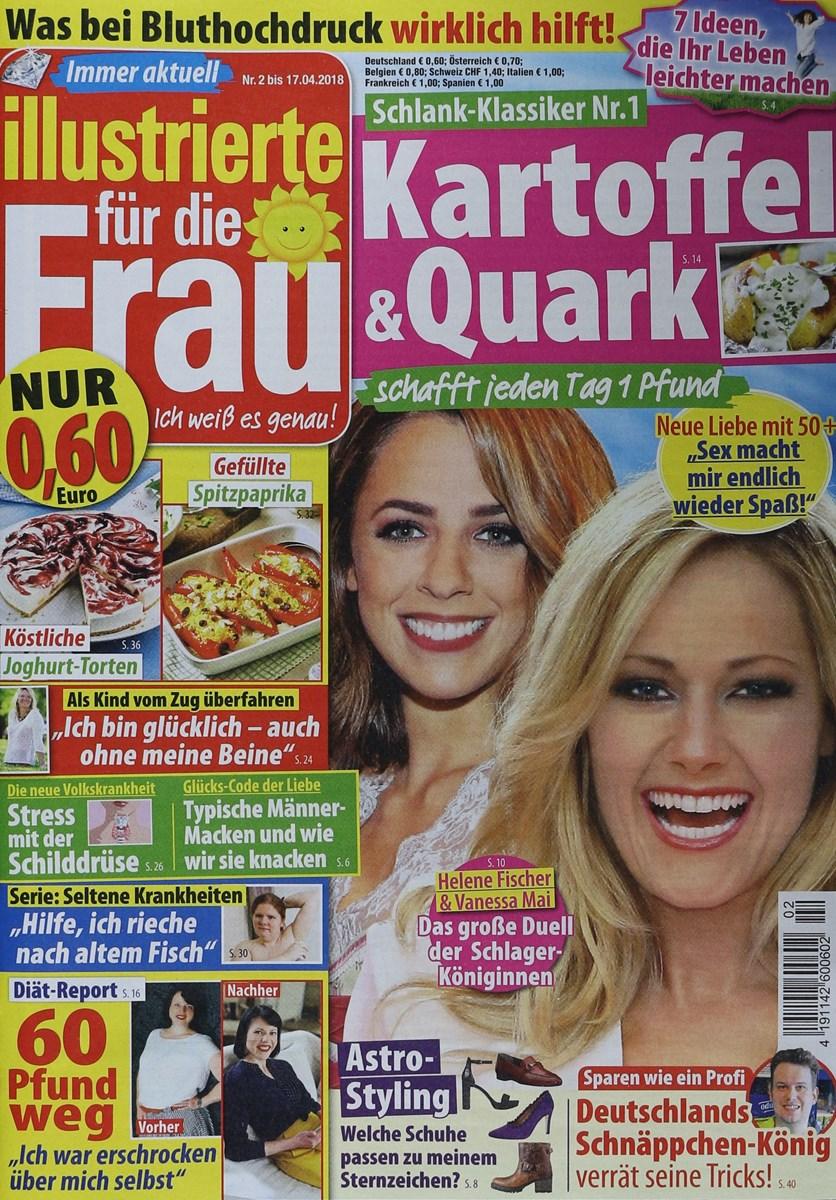 ILLUSTRIERTE FÜR DIE FRAU 2/2018 - Zeitungen und