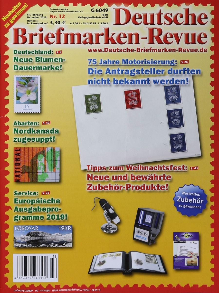 Deutsche Briefmarken Revue 122018 Zeitungen Und Zeitschriften Online