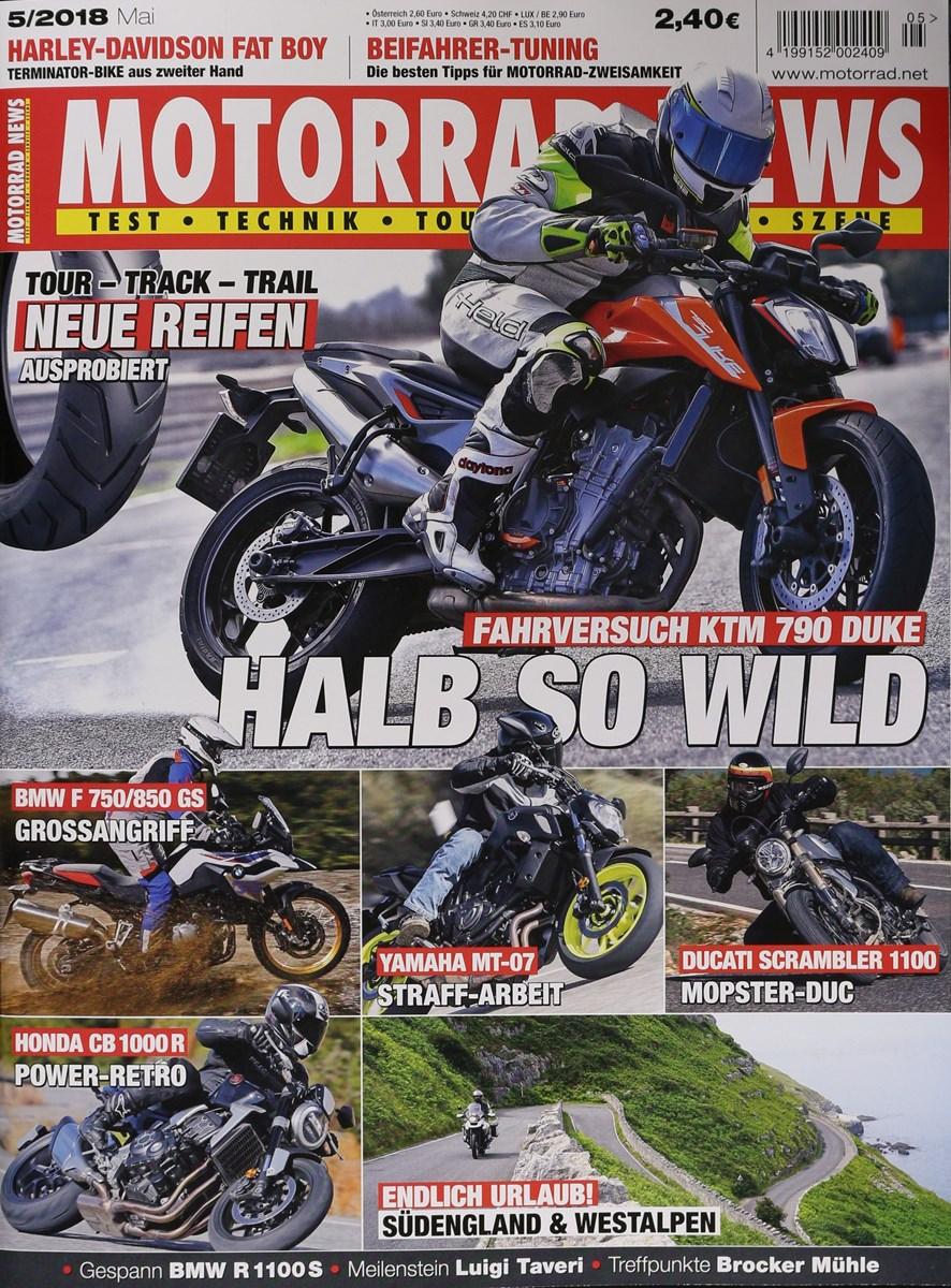 MOTORRAD NEWS 7/2019 - Zeitungen und Zeitschriften online