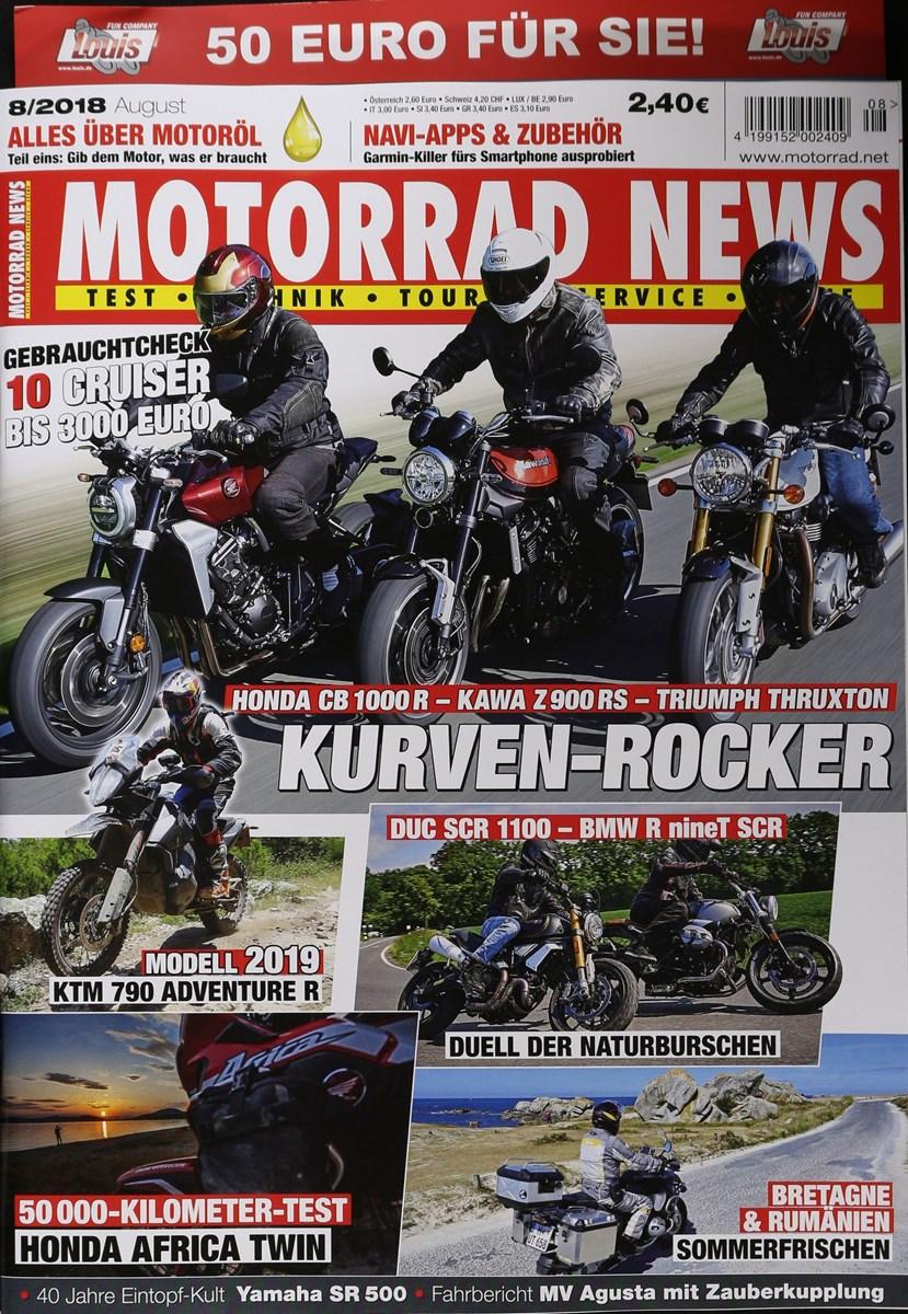 MOTORRAD NEWS 10/2019 - Zeitungen und Zeitschriften online