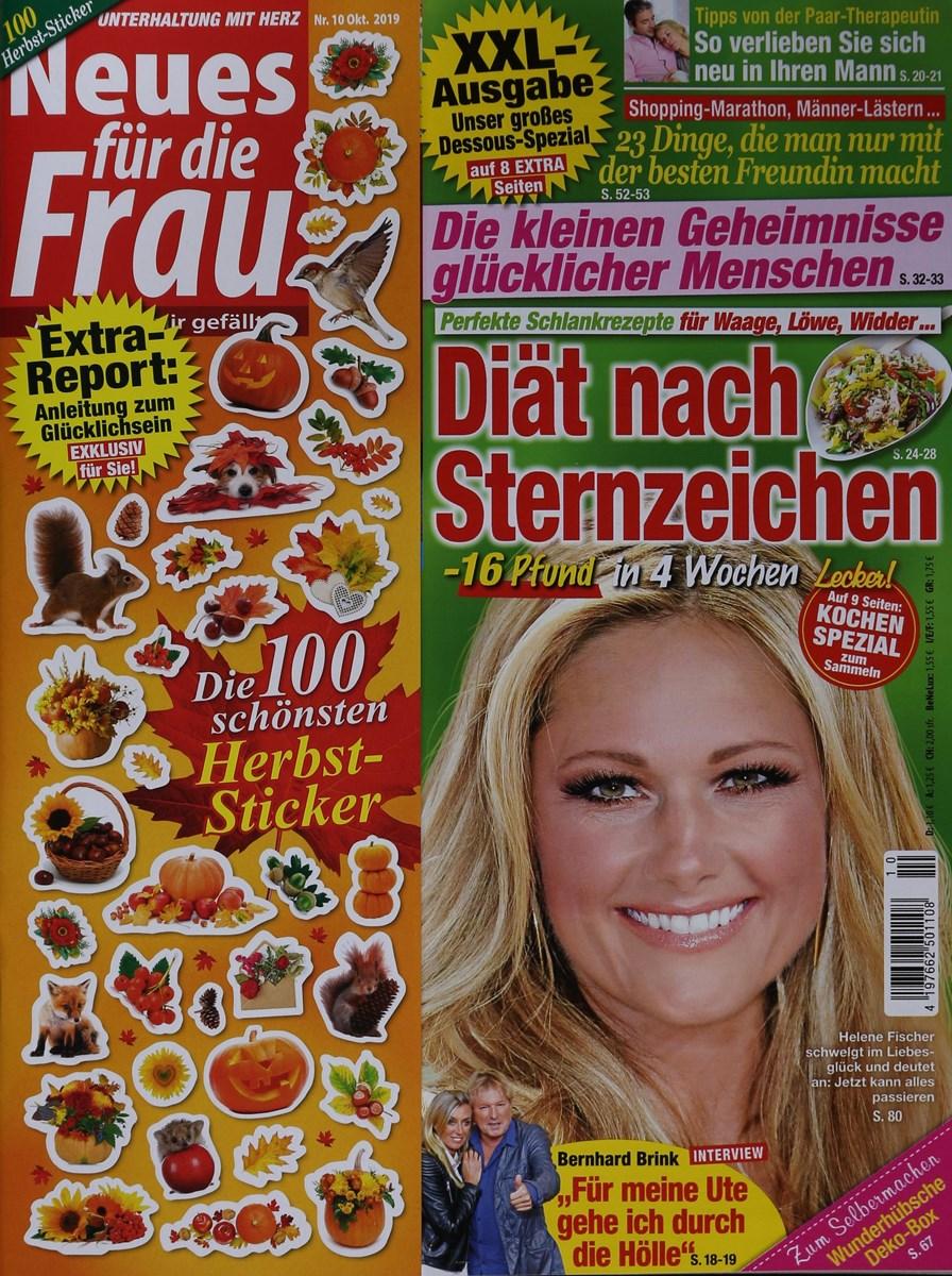 NEUES FÜR DIE FRAU 10/2019 - Zeitungen und Zeitschriften