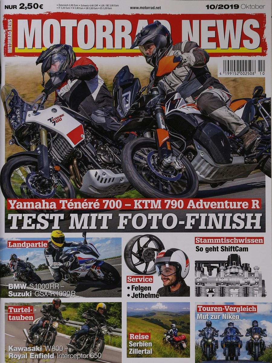 Zeitschrift Motorrad News im Abo kaufen ab 27,20€