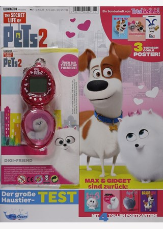 TOTAL TIERLIEB! SH THE SECRET LIFE OF PETS 2