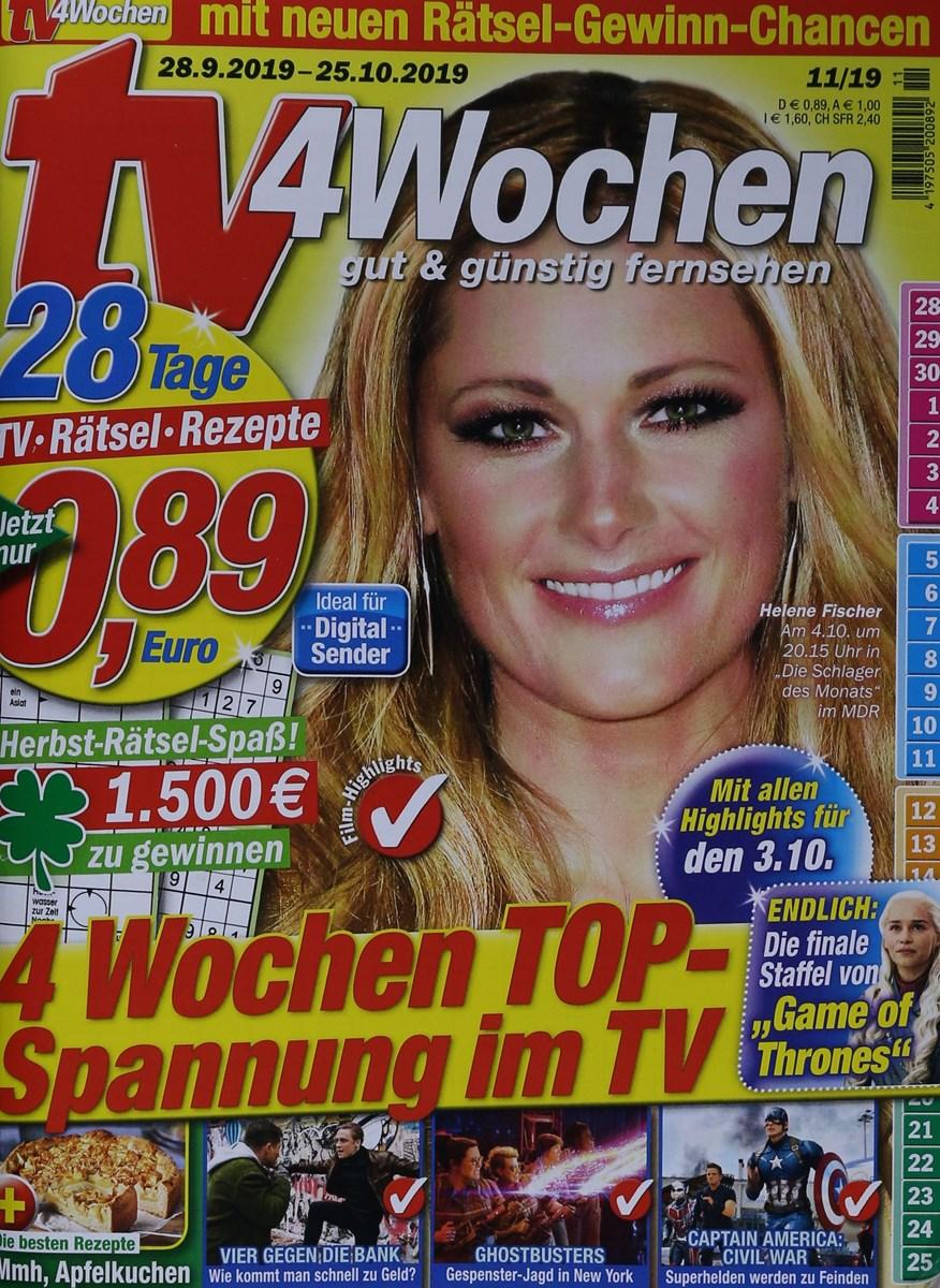 Tv Programm 4 Wochen Vorschau