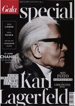 GALA SPECIAL KARL LAGERFELD