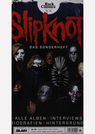 ROCK CLASSICS SLIPKNOT DAS SONDERHEFT