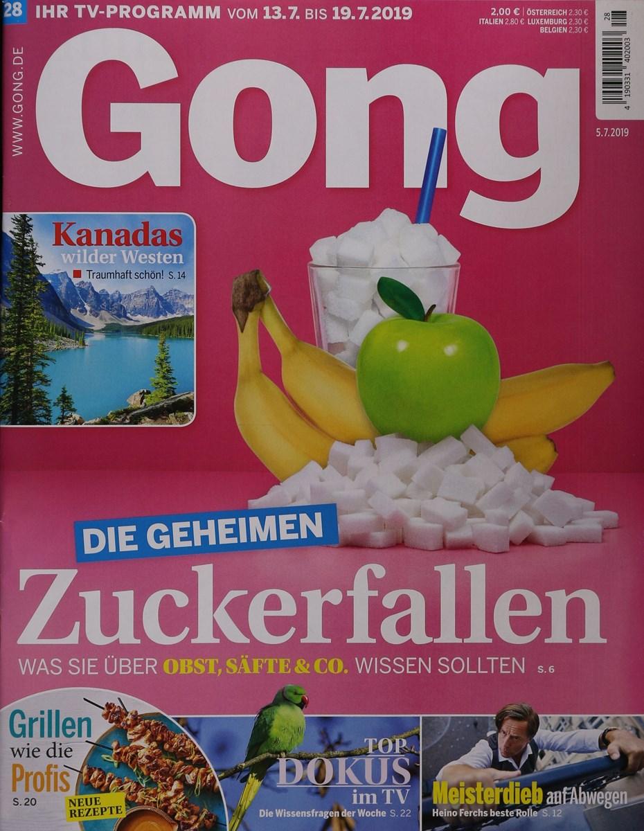 Gong Fernsehzeitung