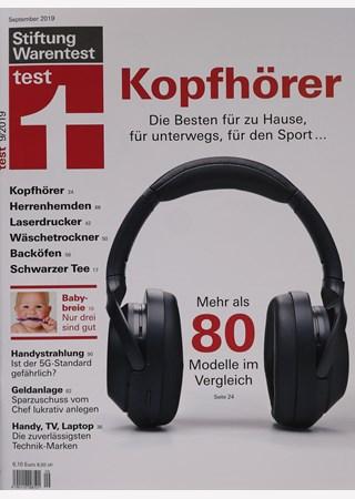 Stiftung Warentest Test Magazin 9 2019 Zeitungen Und Zeitschriften Online