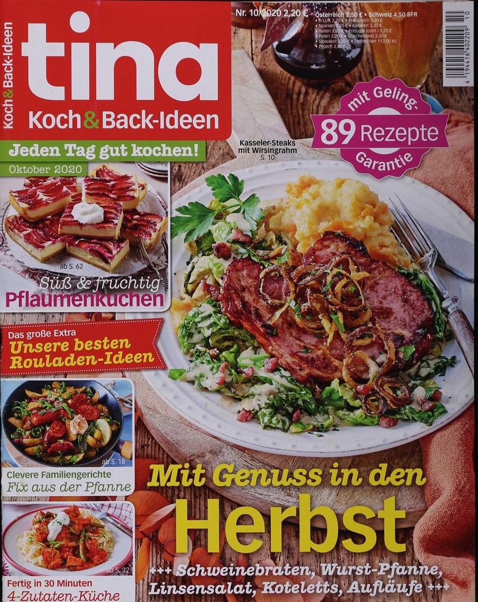 TINA KOCH&BACK-IDEEN 10/2020 - Zeitungen und Zeitschriften