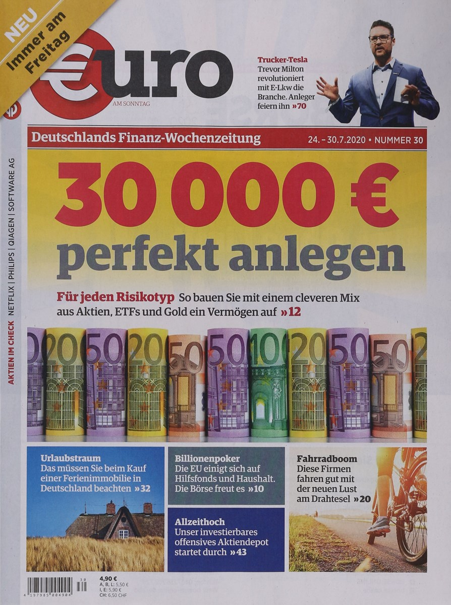 Musterdepot Euro Am Sonntag