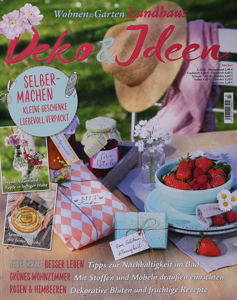 Wohnen Garten Landhaus Deko Ideen 3 2020 Zeitungen Und Zeitschriften Online