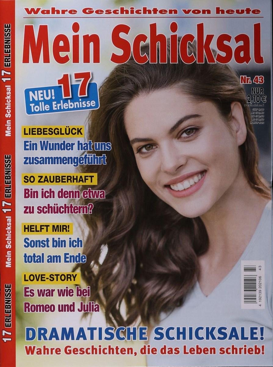 MEIN SCHICKSAL 43/2020 - Zeitungen und Zeitschriften online