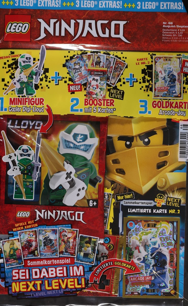 LEGO NINJAGO 66/2020 - Zeitungen und Zeitschriften online